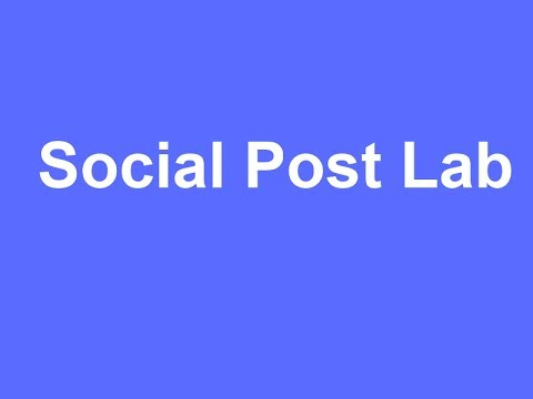 Social Post Lab - The Most Powerful Facebook Marketing Software
