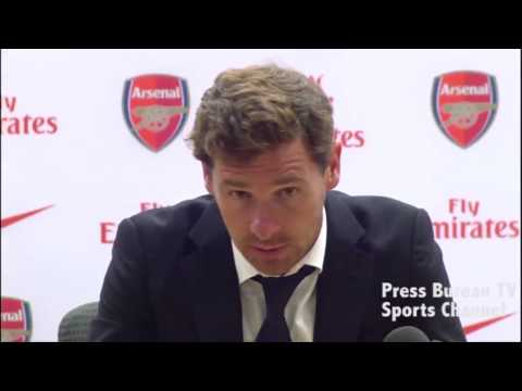 Andre Villas-Boas reaction Arsenal vs Tottenham