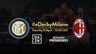 INTER vs AC MILAN | DON'T MISS THE FIRST #EDERBYMILANO! | Sebastiano Esposito vs Rafael Leao 🎮⚫🔵💪🏻????