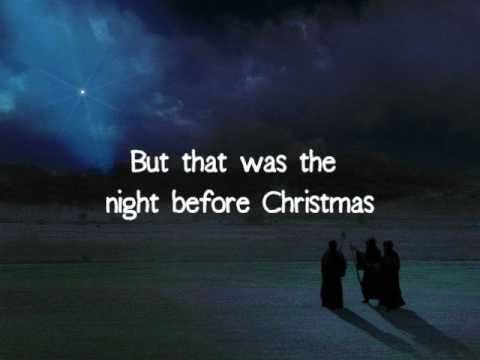 The Night Before Christmas - Brandon Heath | With Lyrics - YouTube