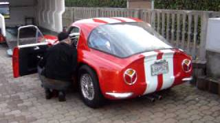 1965 TVR Griffith 400 engine running - 1