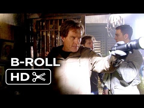 Godzilla B-ROLL Part 1 (2014) - Bryan Cranston, Gareth Edwards Movie HD