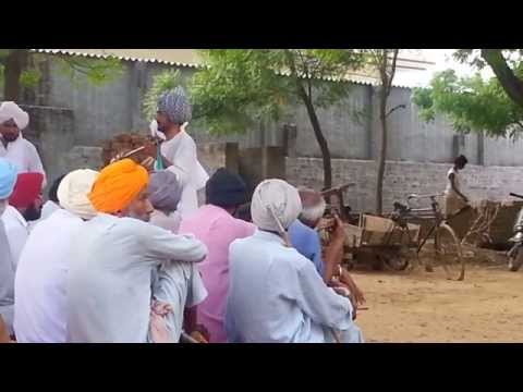 Live punjabi folk song story at Dhudike Moga(1)