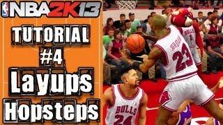 NBA 2K13 Layup Tutorial: How To Do Eurostep, Hopstep
