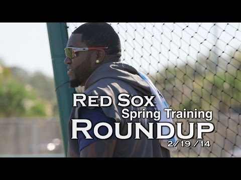 Red Sox Spring Training Roundup : David Ortiz talks contract , new season & haters.