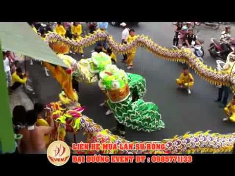 Đoàn lân sư rồng, múa lân sự kiện, cung cấp lân 0985771133