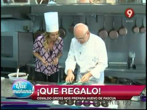Osvaldo Gross nos prepara huevos de pascua