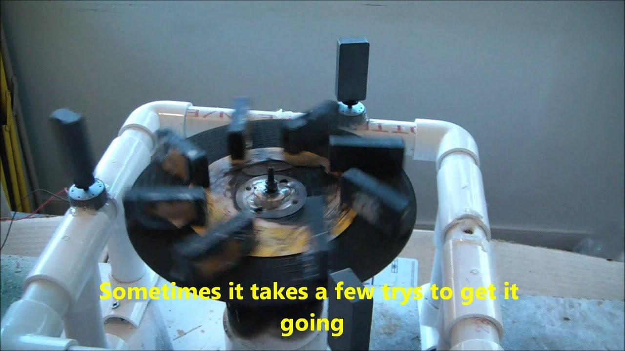 Perpetual Magnetic Generator - YouTube