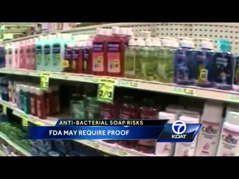 FDA: Anti-bacterial soap ineffective