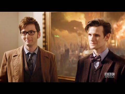 DOCTOR WHO *Exclusive Extended* Inside Look: Ten & Eleven Together in