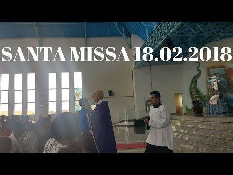 Santa Missa | 1 Domingo da Quaresma | 18.02.2018 | Padre José Sometti | ANSPAZ