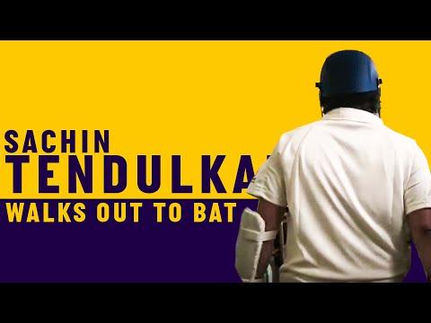Sachin Tendulkar walks out to bat at Lord's   Access All Areas