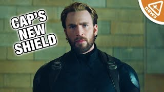 Why Everyone Is Overreacting to Captain America's New Shield! (Nerdist News w/ Jessica Chobot)