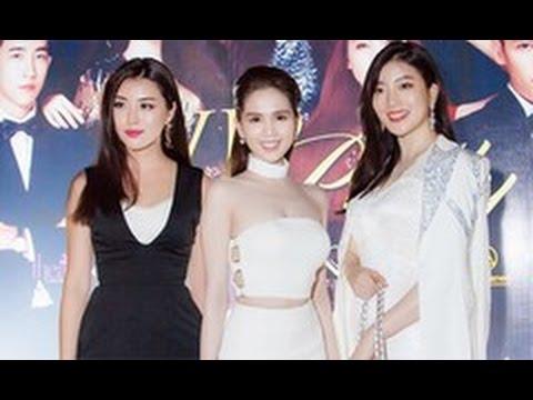 tin tuc sao viet_Ngọc Trinh đọ sắc với Hoa hậu Hàn Quốc, Trung Quốc