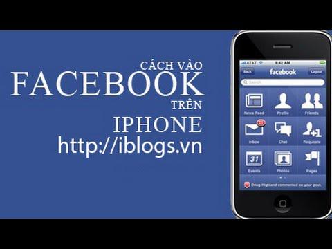 Cách vào facebook trên điện thoại iphone, ipad trinh duyệt safari