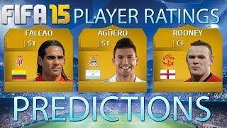 FIFA 15 RATING PREDICTIONS FT AGUERO, ROONEY + FALCAO