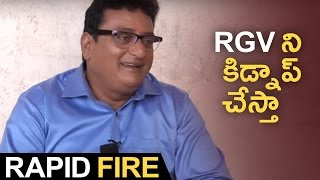 Rapid Fire With Comedian Prudhviraj | Hilarious Answers