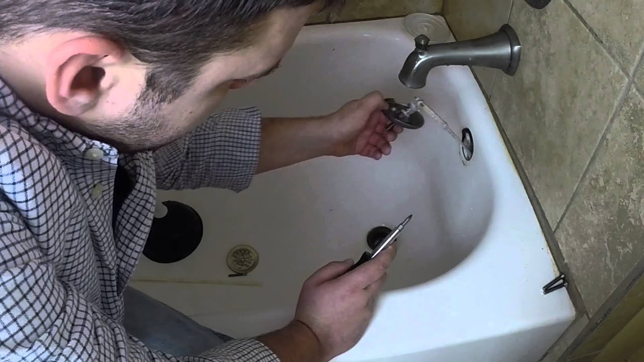 how to unclog your bathtub drain in 5 minutes youtube