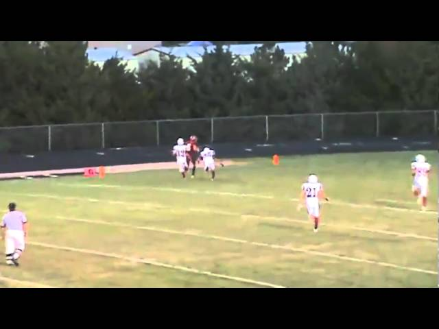 9-3-10 - Eric Garcia finds C.J. Kukus for a 26 yard touchdown (Brush 20, F. Morgan 0)