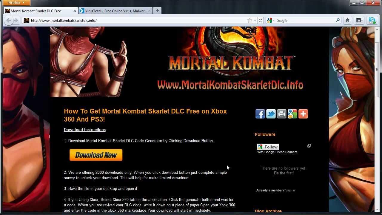 Dlc mortal kombat xbox download when off