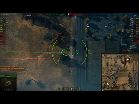 World's Luckiest Artillery Shot - World of Tanks