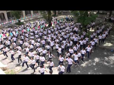 Flashmob Ra trường 2012 - THPT Chuyên Lê Hồng Phong 09-12
