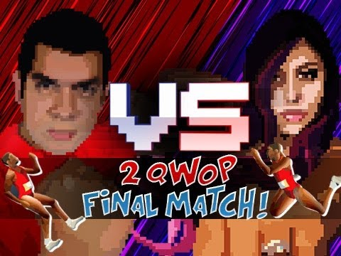 """THE FINAL MATCH"" 2QWOP (Husband vs Wife)"
