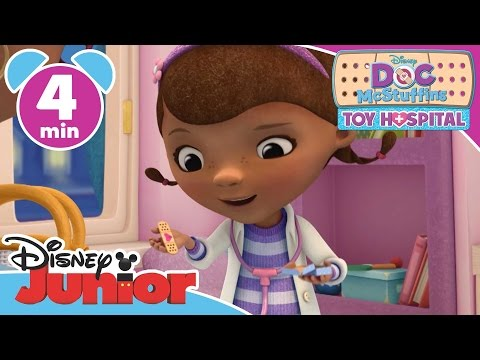 Doc McStuffins: Toy Hospital | Welcome to McStuffinsville! | Disney Junior UK