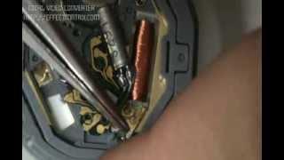 Desarme y armado de reloj de pila parte 3