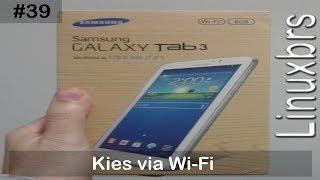 Samsung Galaxy Tab 3 SM T210 Conectando No Kies Via