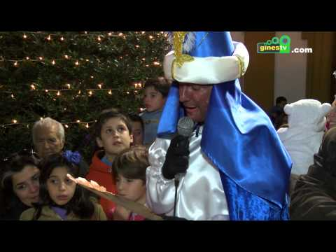 El Heraldo Real recibe las llaves de Gines ante la inminente llegada de los Reyes Magos