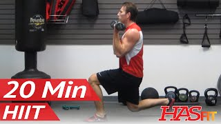 HASfit Warrior 20 Minute Workout Part 1 Of 3 Get Lean