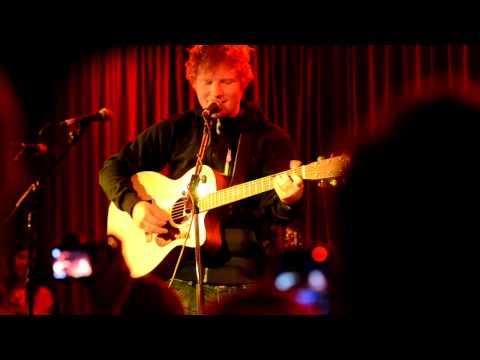 Hold You (HD) -- Nina Nesbitt & Ed Sheeran, Borderline, London, 14 July 2012