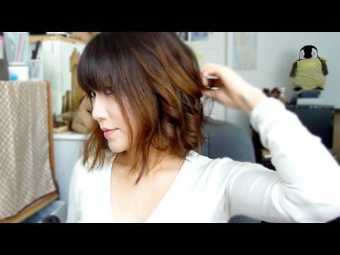 Styling Short Hair Tutorial