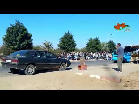 مسيرة بالعوامرة للتلاميذ بعد دهس سيارة لتلميذين