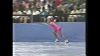 Tonya Harding 1991 Skate America SP