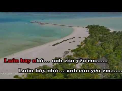 Hy Vọng Mong Manh Karaoke HD Trương Đan Huy Beat Chuẩn