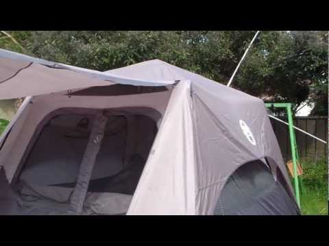 coleman instant up 6man tent first impressions