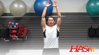 Dynamic Stretching Warm Up Exercises HASfit Warmup