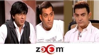 Interview With Bollywood's Top 3 Khans Shahrukh, Salman