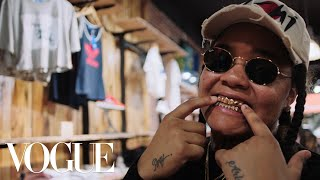 How Rapper Young M.A. Keeps It Real When She Shops   Vogue