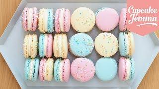 Macaron Masterclass - How to Make Perfect Macarons | Cupcake Jemma