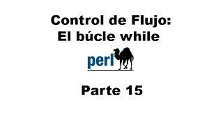 Perl tutorial. Parte 15