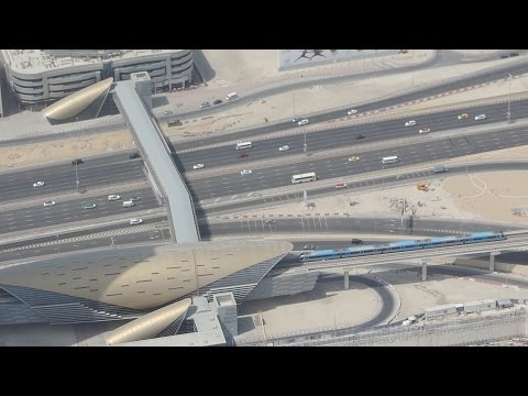 Dubai Metro Construction