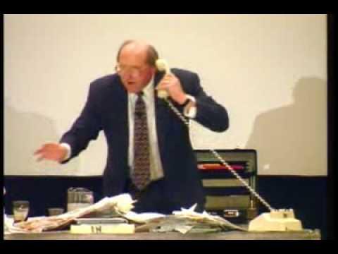 Harold Taylor Time Management Expert - Humorous video describing disorganization