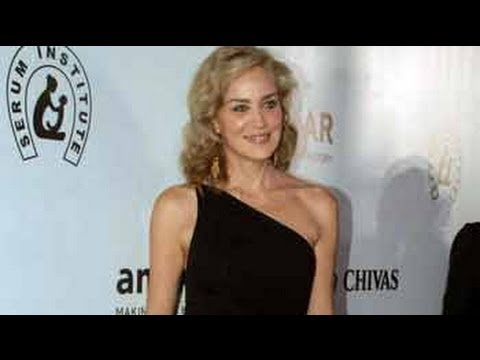 Admire the way Indian women wear saris: Sharon Stone