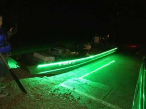 Old 2103 product line up promo 1 night fishing under for Green light fishing