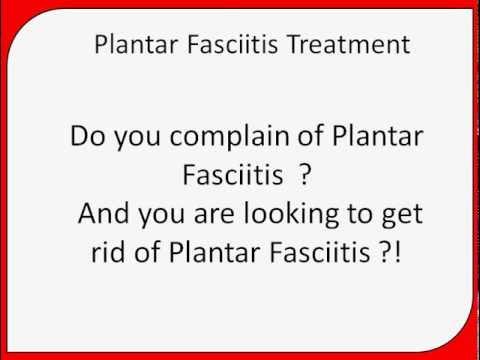 plantar fasciitis pain area