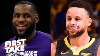 2020 MVP predictions: Stephen A. picks LeBron, Max Kellerman chooses Steph Curry | First Take