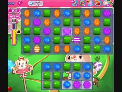 How to beat Candy Crush Saga Level 73 - 3 Stars - No Boosters - 131